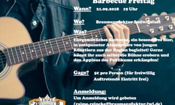 21.09.2018 Freaky Hausmusik und Barbecue Freitag